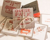 Quest Pack- mini zine - comic