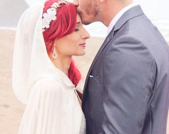 Flower crown, Bridal Flower hair, wedding accessories, wedding headpiece,  Headband, head wreath, hair accessories, bridal, flower girl