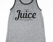 Mens Tank Top -  Apple Juice Tank - Eco-Heather - Vintage Style Shirt - Small, Medium, Large, XL