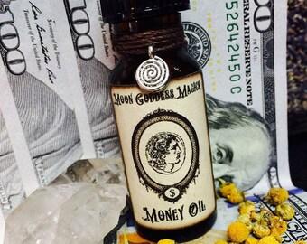 MONEY Oil..Secret recipe ~ Prosperity Oil  ~ Witchcraft ~ Pagan ~ Magick Oil ~