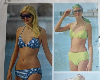 Simplicity 5576 the Every-Body Bikini sewing pattern  sz 8-10 small  suit, bra