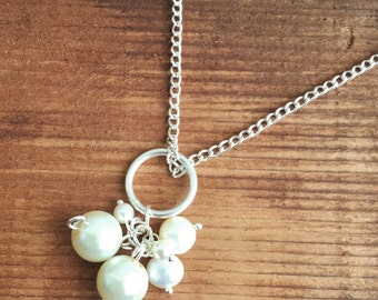 Freshwater Pearl Charm Necklace