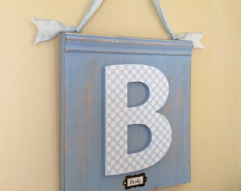 Personalized Name Sign, Choice of Colors, Custom Wall Letter, Initial Plaque, Custom Nursery Decor, Baby Name Art, Nursery Sign, Baby Gift