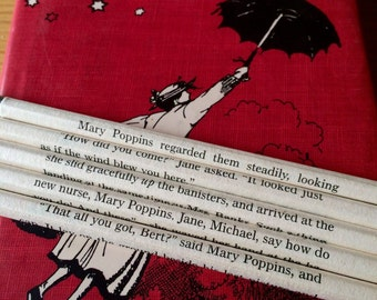 Mary Poppins Wrapped Pencil Set