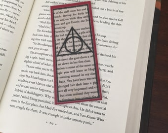 Harry Potter Deathly Hallows Bookmark