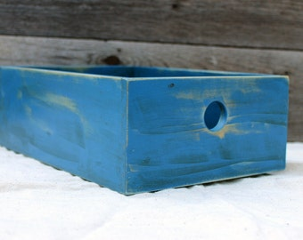 Desktop Storage Box in Blue