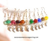 From USA Hard Candy Collection Earrings - Sterling Silver Plated Surgical Steel French Hooks
