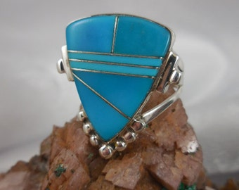 Turquoise Sterling Riing