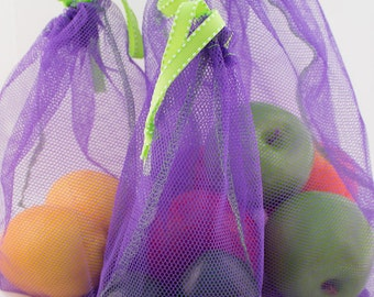 Reusable Produce Bags - Set of Three