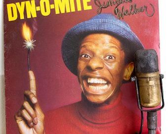 "Jimmie Walker (from the 70s TV Show ""Good Times"") Vinyl Record Album 1970s LIVE StandUp Comedy Record Catchphrase ""Dyn-O-Mite"" (1975 Buddah)"