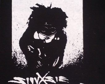 Siouxsie & the Banshees patch goth queen happy house deathrock icon