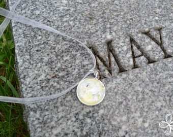 Maia (May) Moon Pendant Necklace