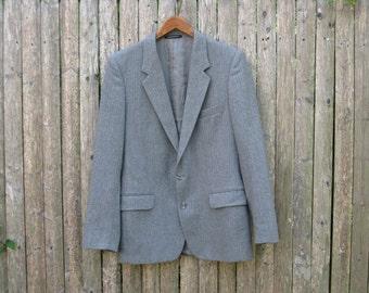 Vintage Yves Saint Laurent Wool Blazer Mens 40