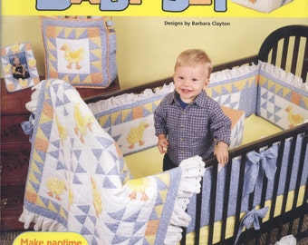 Ducky Duck Baby Set by Barbara Clayton TIB12244