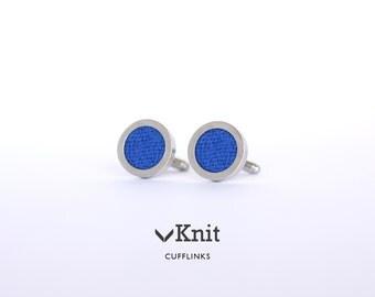 Blue Cufflinks