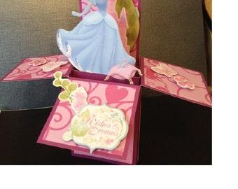 Wishes and Dreams Princess Box Card
