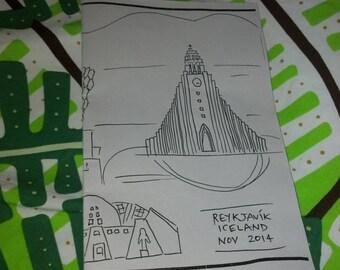Reykjavik mini-comic