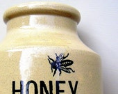 RESERVED LISTING Vintage Moira Pottery Crock Honey Pot