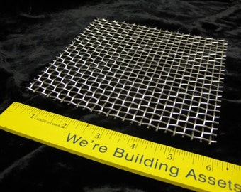 HEAVY FLAT Firing Rack 6 X 6 Stainless Steel Heavy Weight Rack Screen