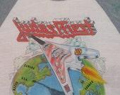 JUDAS PRIEST 1981 tour T SHIRT