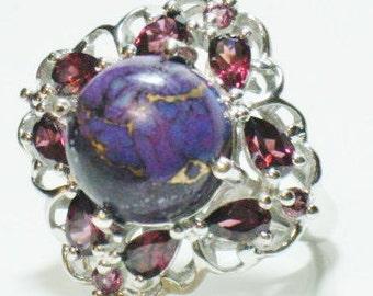 Mojave Purple Turquoise Ring