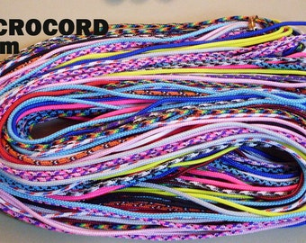 MICROCORD 2mm Paracord Grab Bag. THIN PARACORD  200 ft My Choice of Colors - Choose free gift