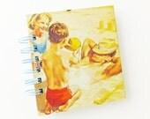 Travel Journal, Seaside Journal, Holiday Notebook, Lined Journal,  Fun and Games Notebook, Ladybird Book Notebook, Small notepad