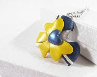 Sailor Uranus Sailor Scout Heart Pendant Necklace