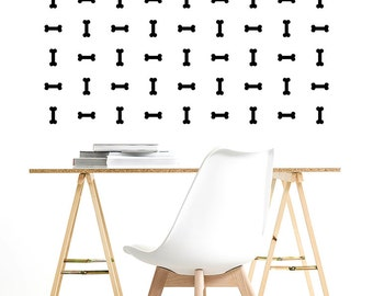 Vinyl Decal Stickers. Wall Pattern: Bones