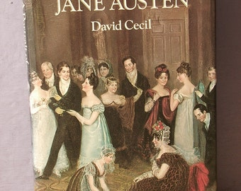 Vintage A Portrait of Jane Austen book by David Cecil, 1979, English author, 1700's English literature, antique literature, gift for her
