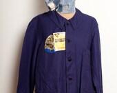 French Worker Jacket Indigo 1950