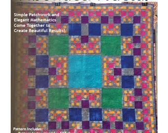 Fibonacci Fractal Quilt Pattern (PDF Download)