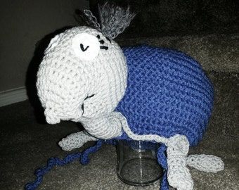 Crochet Dr. Suess' Yurtle The Turtle