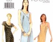 Sleeveless Summer Maxi Dress Vogue 9970 (Womens sizes 14-16-18)