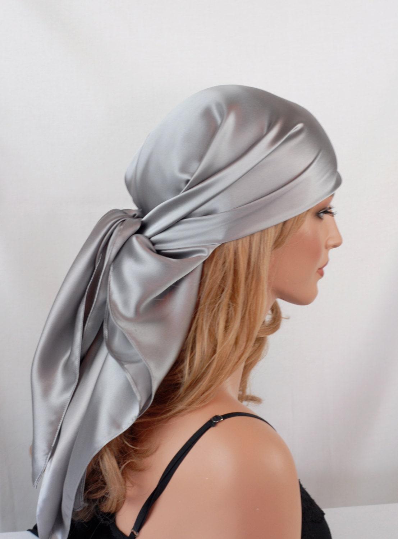 silk scarf sleep or bandana scarf sizes sterling silver