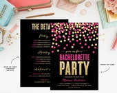 Shimmer & Shine Bachelorette Weekend Invitation