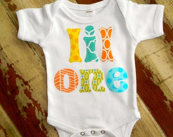 Lil One, Gender Neutral Onesie 0-3m to 18 months, Short or Long Sleeved