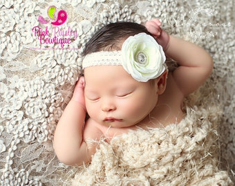 30% OFF. You Pick 1 Baby Headband, Infant Headbands, 5 Color Options, Newborn Headbands, Baby Hair Accessories, Baby Hair bows, Baby Bows