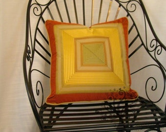 "LIBAS SILK STRIPE -  Pillow Cover - 18"" x 18"""