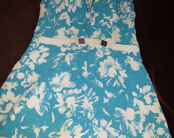 Swimsuit Vintage 1950s Turquoise One Piece