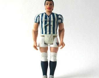 Ricardo, Pee Wee's Playhouse figure, Soccer Player, 1987 vintage toy