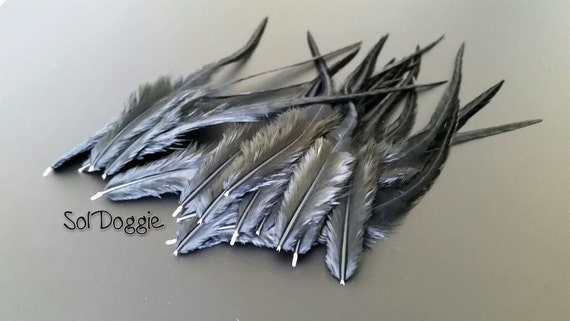 black feathers for crafts feather hair supplies black craft