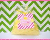 Pink Lemonade Favor Tags - Lemonade Stand Thank You Tags - Pink Lemonade Gift Tags - Digital and Printed Available