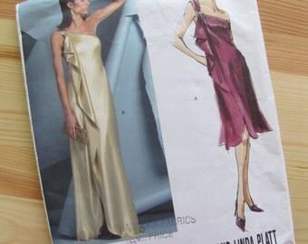 Uncut Vogue Sewing Pattern 2881 - Tom and Linda Platt - Misses Dress - Size 12-16