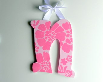 Pink Wooden Letter to Match Room Décor - Dream Girl design
