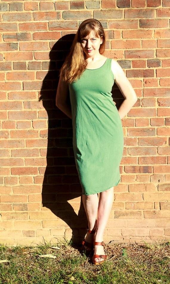 Slip Dress, Organic Cotton Jersey Summer Dress