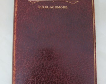 Leather Bound Book Lorna Doone Blackmoore SHP