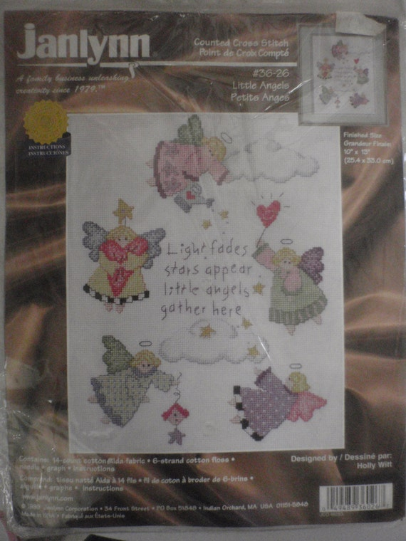 janlynn cross stitch instructions