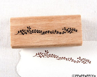 plants Rubber Stamp