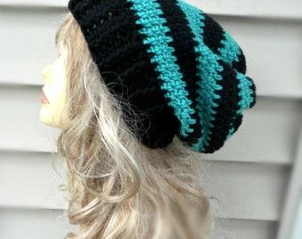 Slouchy Womens Hat Crochet Beanie Crochet Slouch Hat Winter Hat Womens Crochet Hat Womens Slouchy Hat Pink Slouchy Beanie